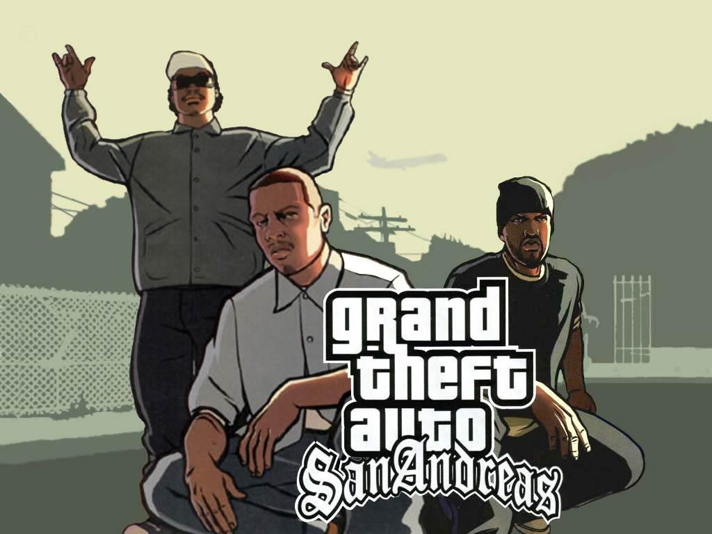Gta San Andreas Wallpaper Cj