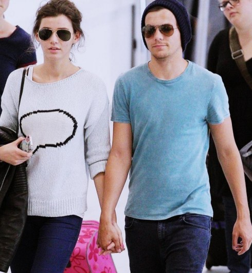 Eleanor Calder Et Louis Tomlinson y Eleanor Calder
