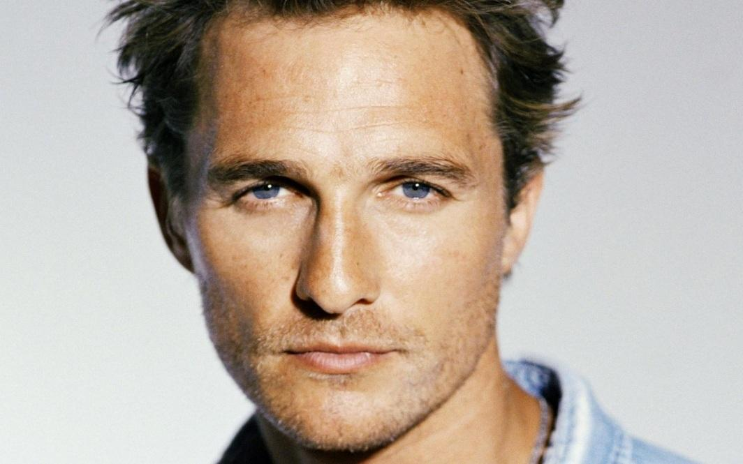 Matthew Mcconaughey Closeup Wallpaper Wide
