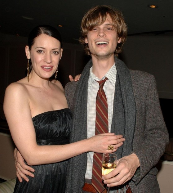 Paget Brewster with Fiancé Steve Damstra